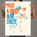 Police and Thieves - Limited Edition Print by society6