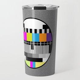 Television Color Test Travel Mug
