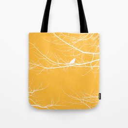 The Lonely Bird in the Tree III Tote Bag
