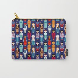 Children of the World - Navy Carry-All Pouch