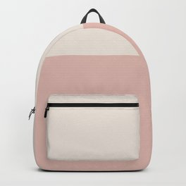 Half-and-Half in Pink Backpack