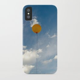 i want to be a new planet iPhone Case