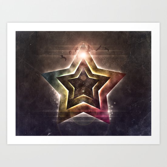 Star Lights Art Print