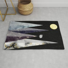 Marbled Mountains Rug