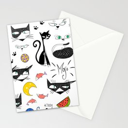 Mojo and Chilli Stationery Cards