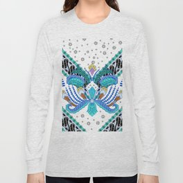 Indonesian batik artwork Long Sleeve T-shirt