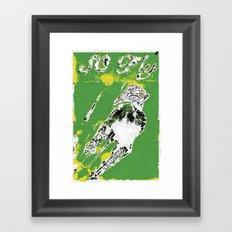 SO FLY ROBOT BY Cd KIRVEN Framed Art Print