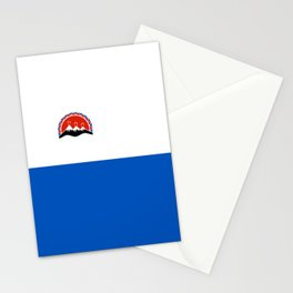 kamchatka flag Stationery Cards