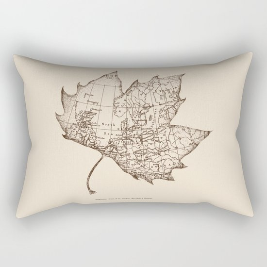 Travel With the Wind Rectangular Pillow