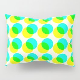 dots pop pattern 3 Pillow Sham