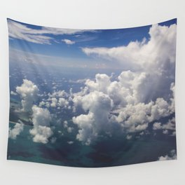 Head Clouds IV Wall Tapestry