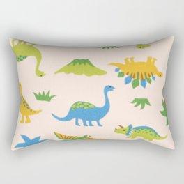 Dinosaurs colorfull Rectangular Pillow
