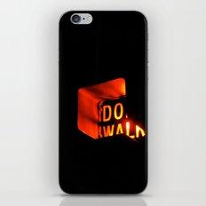 DO WALK iPhone Skin