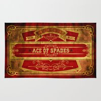 ace Area & Throw Rugs featuring Ace by Ace of Spades