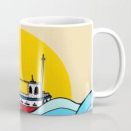 The little fishing boat Coffee Mug