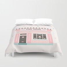 Pink Sugar Bakery  Duvet Cover