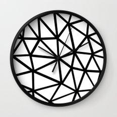 Seg Zoom 2B Wall Clock