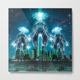 The Prime Directive Metal Print