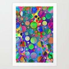 Joyful Dots 3 Art Print
