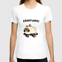 pug T-shirts featuring PUG. by Jarvis Glasses