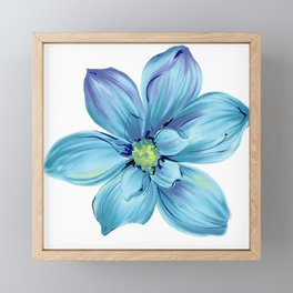 Flower ;) Framed Mini Art Print