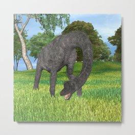 Dinosaur Brachiosaurus Metal Print