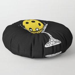 Day Dinking For Pickleball Player Floor Pillow