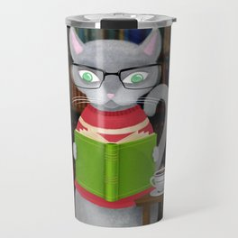 Kitty Corner Coffee And Reading Room Travel Mug