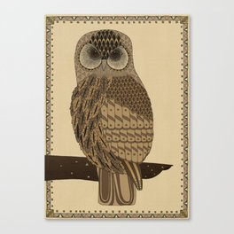 The Laughing Owl Canvas Print