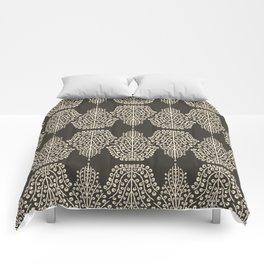 SPIRIT LINEAR truffle magnolia Comforters
