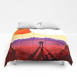 Kepler 16b Comforters