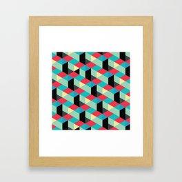 Isometrix 001 Framed Art Print