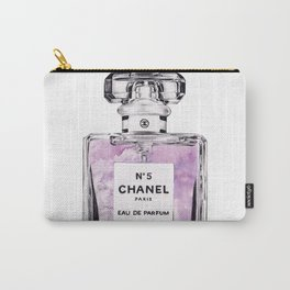 PERFUME No.5 PURPLE Carry-All Pouch