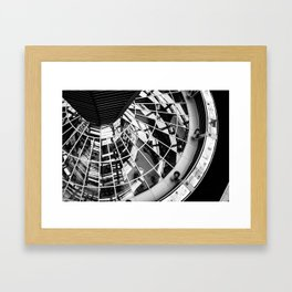 Looking down the dome Framed Art Print