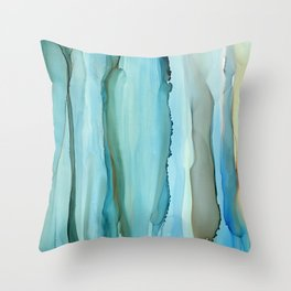 Dance With Me - Green 2016 Throw Pillow