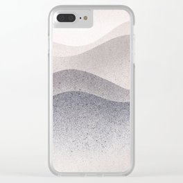 Seashore Clear iPhone Case