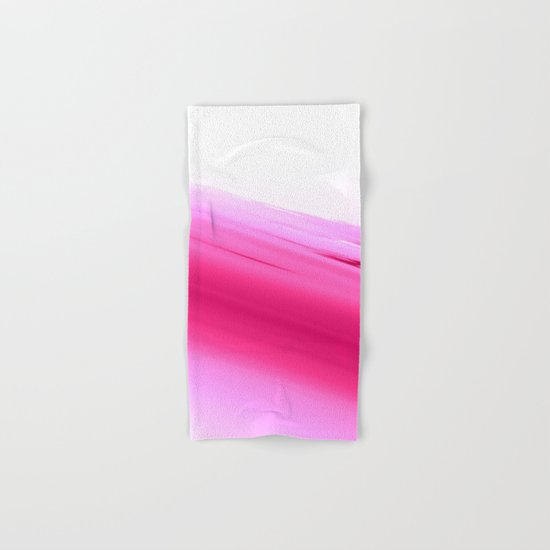 Pink Ombre Hand & Bath Towel