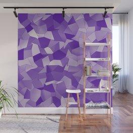 Geometric Shapes Fragments Pattern wp2 Wall Mural