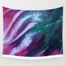 SQUIDS AND MERMAIDS Wall Tapestry