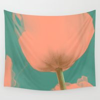 tulip Wall Tapestries featuring Tulip by i am sofia santos