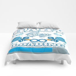 Baby Is Loading Boy Pregnancy Announcement Gift Comforters