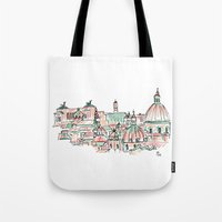 rome Tote Bags featuring Rome by Ursula Rodgers