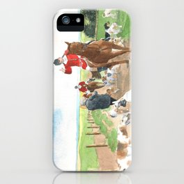Foxhunt 3 iPhone Case