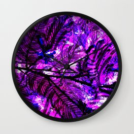 Leaves V6WL Wall Clock