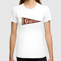 gryffindor T-shirts featuring Gryffindor 1948 Vintage Pennant by Andy Pitts