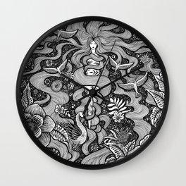 Goddess Aphrodite Wall Clock