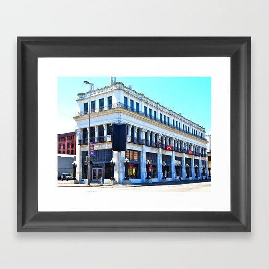 Big Whiskey Saloon Framed Art Print