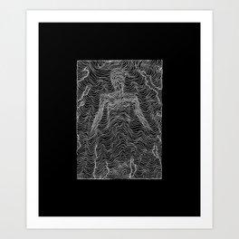 Spectral Lines Art Print
