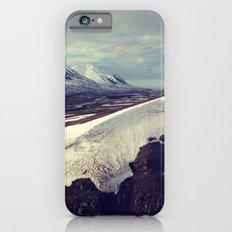 snow curves iPhone 6s Slim Case