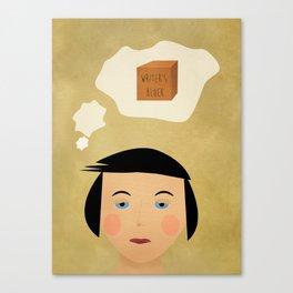 Writer's Block Canvas Print